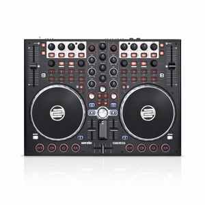 Reloop Terminal Mix 2 Controller Bundled with Serato DJ and Serato Video, Black