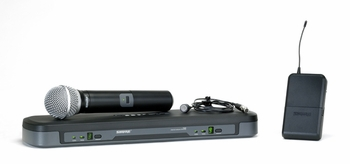 Shure PG1288/PG185 Wireless Microphone Dual System