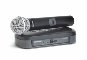 Shure PG24/PG58 Wireless Microphone Single System