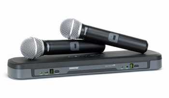 Shure PG288/PG58 Wireless Microphone Dual System