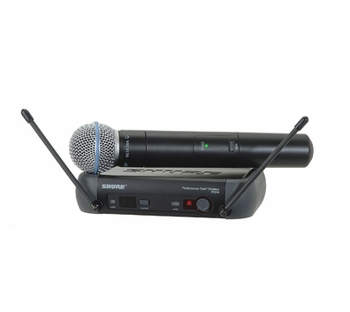 Shure PGX24/BETA58 Wireless Microphone Vocal System - Free Shipping!!!