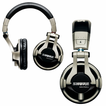 Shure SRH750DJ Professional DJ Headphone