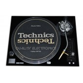 Technics Face Plate Cover for SL-1200/SL1210M5G Turntable Black