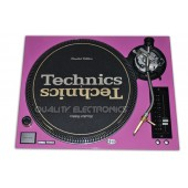 Technics Face Plate Cover  for  SL-1200/SL1210M5G Turntable- Pink