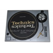 Technics Face Plate Cover For SL1200/SL1210MK5 and SL1200M3D Turntable - Silver