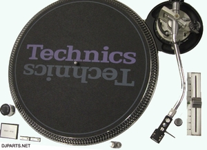 Technics  Face Plate Cover For SL1200MK5 SL1210MK5 and SL1200M3D  Turntable - White