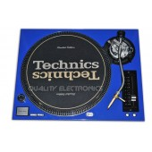 Technics Face Plate Covr for SL-1200/SL1210M5G Turntable- BLUE