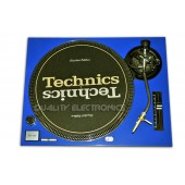 Technics Faceplate Cover for  SL-1200 / 1210 MK2   Turntable - Blue Free Shipping