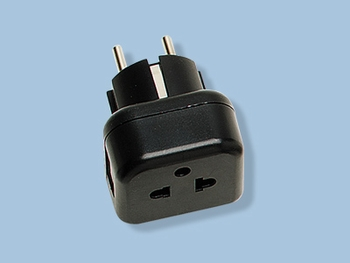 VDE Earth 5mm Round Pin Plug