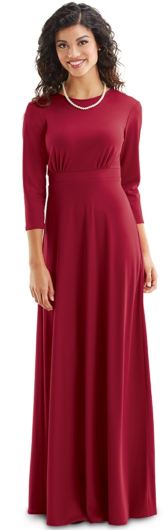 34 Sleeve Knit Brise Dress For Choir And Orchestra