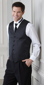 Marcata<br>Men's 5 Button Textured Vest
