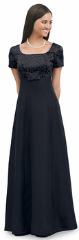 Chanterelle  Dress<br>Black Formal Choir Gown
