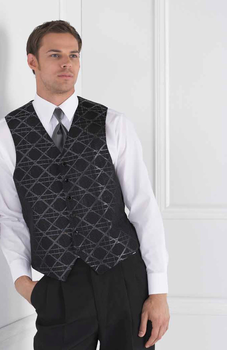 Diamond Abstract Men's Vest