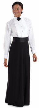 Ladies Regular Collar Tuxedo Shirt