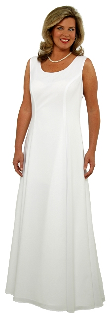 Lined Sleeveless (Corista) Crepe Dress