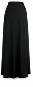 Long Crepe Concert Skirt