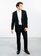 Men's  Essential Black Suit