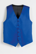 Adult Precentor Vest<br>Men's 6 Button Satin Vest