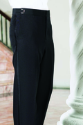 Plain Front Adjustable Tuxedo Pants