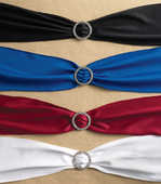 Shirred Tie Back Sash