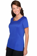 Stretch Knit Tunic with 3 neckline and sleeve options