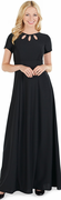 Valerie Dress<br>Triple Keyhole Neckline Orchestra Gown