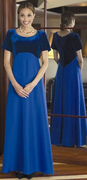 Oratorio<br> Modest Velvet Orchestra Dress