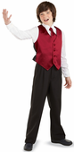 Youth Satin Precentor Vest