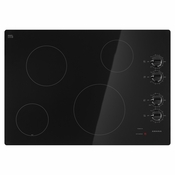 AMANA 30 in. Radiant Electric Cooktop in Black with 4 Elements Model #AEC6540KFB