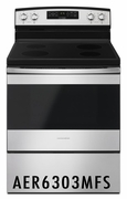Amana 4.8 cu ft Range with Temp Assure� Cooking System AER6303MFS