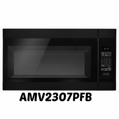 Amana Black Over-The-Range Microwave Oven AMV2307PFB