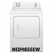 (In-Store Special) AMANA 6.5 CU. FT. Dryer NED4655EW WITH Automatic Dryness Control & WRINKLE PREVENT OPTION