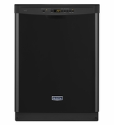 BLACK MAYTAG DISHWASHER WITH LARGE CAPACITY STAINLESS TUB MDB4949SDE ENERGY STAR