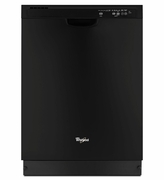 Black Whirlpool Dishwasher WDF540PADB Dishwasher with Sensor Cycle 53 dBA ENERGY STAR