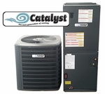 Catalyst 1.5 Ton Heat Pump 14 SEER Now Just $2123, Plus get a Free Honeywell Thermostat and a Free UV Bio Filter!