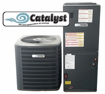 Catalyst 1.5 Ton Heat Pump 16 SEER Now Just $2317, Plus get a Free Honeywell Thermostat and a Free UV Bio Filter!