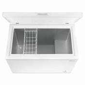 CHEST FREEZER 7.0 CU. FT. AMANA� COMPACT FREEZER WITH 1 WIRE BASKET AQC0701DRW