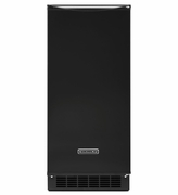 Ice Maker Black KitchenAid KUIS15NNZB 15'' Automatic Ice Maker