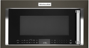 KitchenAid Black Stainless Steel Over-The-Range Microwave Oven - KMHC319EBS