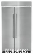 Kitchenaid  Built in Fridge KBSN608ESS 48-Inch Width Built-In Side by Side Refrigerator 30.0 cu. ft