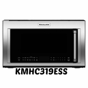 KitchenAid 1.9 Cu. Ft Convection Range Microwave with High-Speed Cooking KMHC319ESS  Stainless Steel