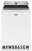 MAYTAG 5.2 CU. FT. WASHER WITH THE DEEP FILL OPTION AND POWERWASH® CYCLE TOP LOAD WASHER WITH THE DEEP FILL OPTION AND POWERWASH® CYCLE MVWB865GW