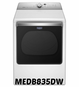 MAYTAG 8.8 CU. FT. EXTRA-LARGE CAPACITY DRYER WITH POWERDRY CYCLE MEDB835DW