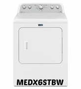 MAYTAG BRAVOS 7.0 CU. FT. HIGH EFFICIENCY DRYER WITH STEAM MEDX6STBW