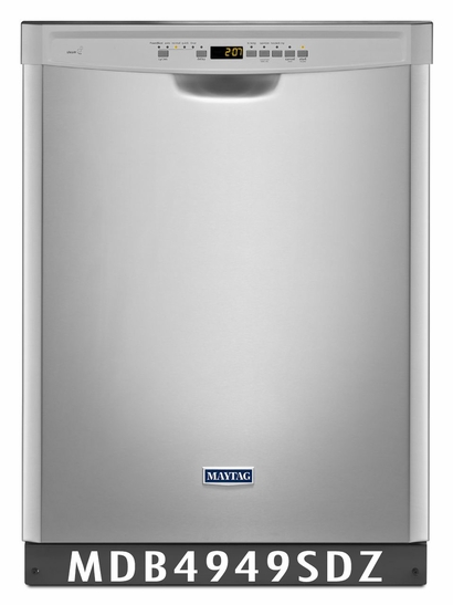 Maytag Dishwasher in Fingerprint Resistant Stainless Steel MDB4949SDZ & Stainless Steel Tub