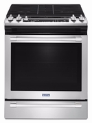 Maytag Stainless Steel Slide-In Convection Gas Range - MGS8800FZ