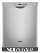 Maytag Heritage POWERFUL DISHWASHER AT 47 DBA MDB7949SDZ