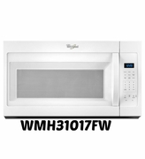 Over The Range Microwave By Whirlpool  1.7 cu ft Model #WMH31017FW