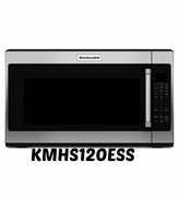 Stainless Steel Kitchenaid Microwave KMHS120ESS with 7 Sensor Functions 1000-Watt 30 inch