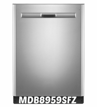 Maytag Stainless Steel Dishwasher Model #MDB8959SFZ Energy Star (Fingerprint Resistant Stainless Steel)
